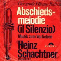Cover Heinz Schachtner - Abschiedsmelodie (Il silenzio)