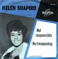 Cover Helen Shapiro - Not Responsible