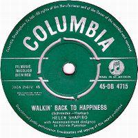Cover Helen Shapiro - Walkin' Back To Happiness