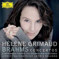 Cover Hélène Grimaud / Symphonieorchester des Bayerischen Rundfunks / Wiener Philharmoniker / Andris Nelsons - Brahms: The Piano Concertos