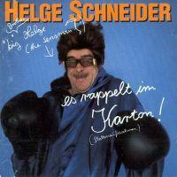 Cover Helge Schneider - Es rappelt im Karton!