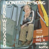 Cover Henk Wijngaard - Container-Song