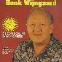 Cover Henk Wijngaard - De zon schijnt in m'n cabine