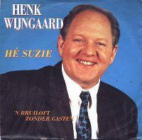 Cover Henk Wijngaard - Hé Suzie