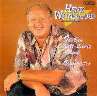 Cover Henk Wijngaard - Ik ben veel liever alleen