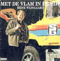 Cover Henk Wijngaard - Met de vlam in de pijp
