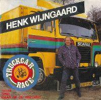 Cover Henk Wijngaard - Truckcar race