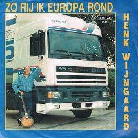 Cover Henk Wijngaard - Zo rij ik Europa rond