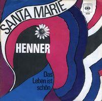 Cover Henner - Santa Marie