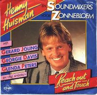 Cover Henny Huisman En Soundmixers Voor Zonnebloem - Reach Out And Touch