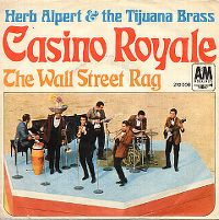 Cover Herb Alpert & The Tijuana Brass - Casino Royale