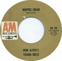 Cover Herb Alpert's Tijuana Brass - Whipped Cream