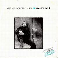 Cover Herbert Grönemeyer - Halt mich