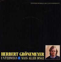 Cover Herbert Grönemeyer - Unterwegs