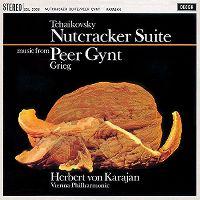 Cover Herbert von Karajan / Vienna Philharmonic - Tchaikovsky: Nutcracker Suite - Music From Grieg: Peer Gynt
