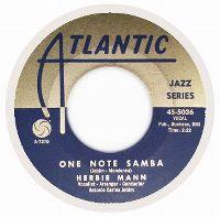 Cover Herbie Mann - One Note Samba