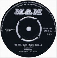 Cover Heritage - We Are Goin' Down Jordan