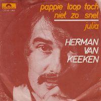 Cover Herman van Keeken - Pappie loop toch niet zo snel