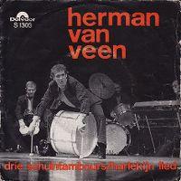 Cover Herman van Veen - Drie schuintamboers