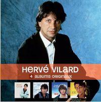 Cover Hervé Vilard - 4 albums originaux