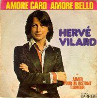Cover Hervé Vilard - Amore caro, amore bello