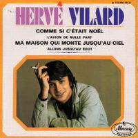 Cover Hervé Vilard - Comme si c'était Noël