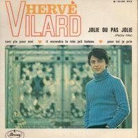 Cover Hervé Vilard - Jolie ou pas jolie