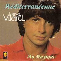 Cover Hervé Vilard - Méditerranéenne