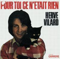 Cover Hervé Vilard - Pour toi ce n'était rien