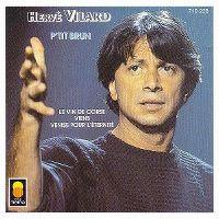 Cover Hervé Vilard - P'tit brun