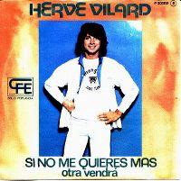 Cover Hervé Vilard - Si no me quieres más