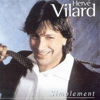Cover Hervé Vilard - Simplement