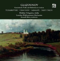 Cover Hideko Udagawa / London Philharmonic Orchestra / Kenneth Klein - Glazounov