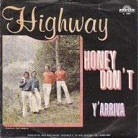 Cover Highway - Honey Don't