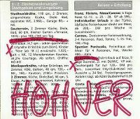 Cover Höhner - 2 Zimmer, Küche, Diele, Bad