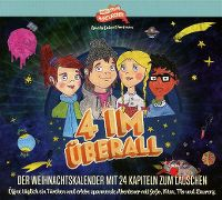 Cover Hörspiel - 4 im Überall