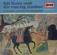 Cover Hörspiel - Ali Baba und die vierzig Räuber & Aladdin und die Wunderlampe