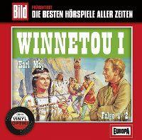 Cover Hörspiel - Bild präsentiert: Die besten Hörspiele aller Zeiten / 08. Winnetou I, Folge 1+2