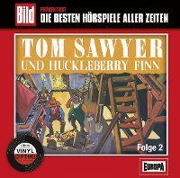 Cover Hörspiel - Bild präsentiert: Die besten Hörspiele aller Zeiten / 16. Tom Sawyer und Huckleberry Finn, Folge 2