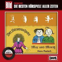 Cover Hörspiel - Bild präsentiert: Die besten Hörspiele aller Zeiten / 20. Struwwelpeter & Max und Moritz