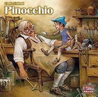 Cover Hörspiel - Carlo Collodi: Pinocchio