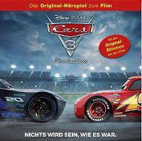 Cover Hörspiel - Cars 3 - Nichts wird sein, wie es war.