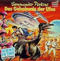 Cover Hörspiel - Commander Perkins: Das Geheimnis der Ufos