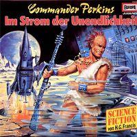 Cover Hörspiel - Commander Perkins: Im Strom der Unendlichkeit