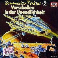 Cover Hörspiel - Commander Perkins: Verschollen in der Unendlichkeit