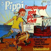Cover Hörspiel - D Pippi Langstrumpf gaht ufs Schiff - 2. Folge