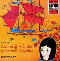 Cover Hörspiel - Das Schiff mit den purpurnen Segeln