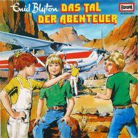 Cover Hörspiel - Das Tal der Abenteuer