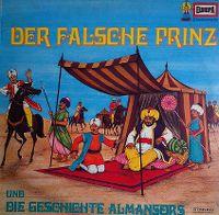 Cover Hörspiel - Der falsche Prinz + Die Geschichte Almansors
