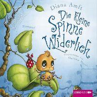 Cover Hörspiel - Diana Amft: Die kleine Spinne Widerlich